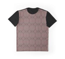 """Peach, gray and chocolate lace"" Graphic T-Shirt"