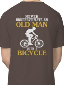 Bicycle Old Man  Classic T-Shirt
