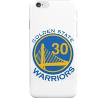 Golden State Warrirors (30) iPhone Case/Skin