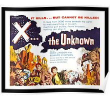 X... the Unknown Poster