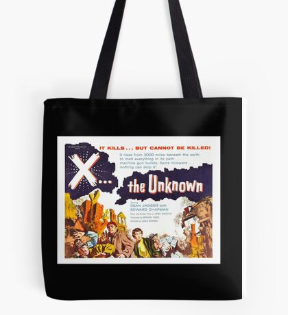 X... the Unknown Tote Bag