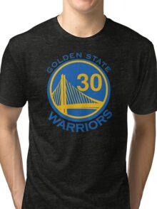 Golden State Warrirors (30) Tri-blend T-Shirt