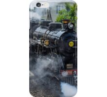 Steam train on the Romney Hythe and Dymchurch Railway, Kent iPhone Case/Skin