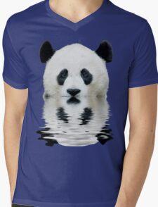 Water panda Mens V-Neck T-Shirt