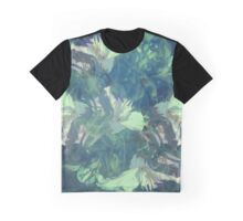 Sea Glass and Teal Graphic T-Shirt