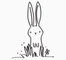 Surprised Bunny Kids Tee