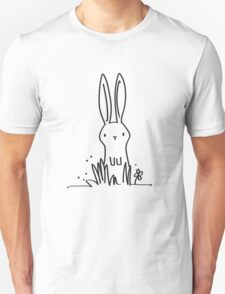 Surprised Bunny Unisex T-Shirt