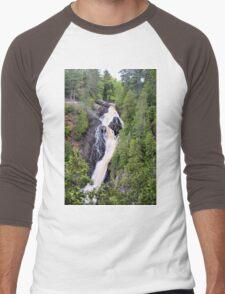 Big Manitou Falls 4 Men's Baseball ¾ T-Shirt