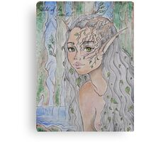 Child Of The Forest Canvas Print
