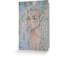 Child Of The Forest Greeting Card