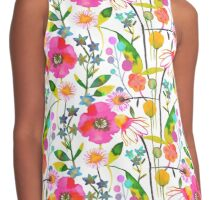 Spring flowers Contrast Tank