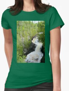 Devils Kettle Womens Fitted T-Shirt