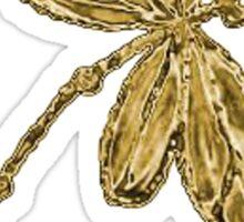 Gorgeous Golden Dragonfly!!! Sticker