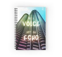 Petronas Tower Inspirational Quote Spiral Notebook