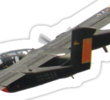 North American Bronco OV10 Sticker
