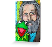 Jim Henson & Kermit the Frog Greeting Card