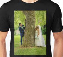 Laura & Connor (Bride & Groom) Unisex T-Shirt