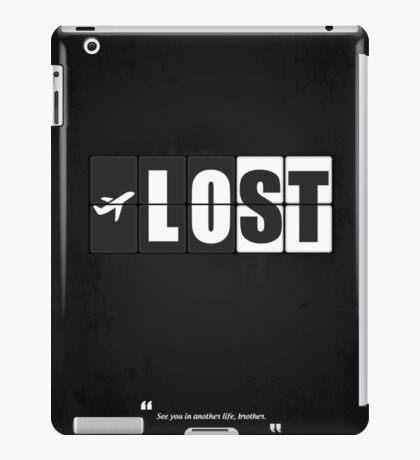 Lost - Minimal TV Series Poster. iPad Case/Skin