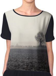 Ghosts in the Landscape Chiffon Top