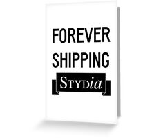 Stydia Greeting Card