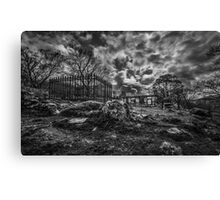 The Abandoned Chapel  Canvas Print