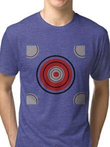 Kreis Rot Tri-blend T-Shirt