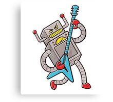 Robot Rock! Canvas Print
