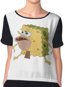 Caveman Spongebob Chiffon Top