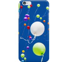 colorful balloons in the sky iPhone Case/Skin