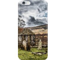 Trefriw abandoned Chapel  iPhone Case/Skin