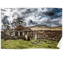 Trefriw abandoned Chapel  Poster