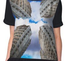 construction of residential buildings Chiffon Top