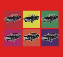 Warhol Mustangs One Piece - Short Sleeve