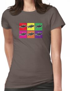 Warhol Mustangs Womens Fitted T-Shirt