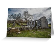 Abandoned Chapel near Trefriw  Greeting Card