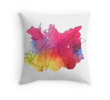 Paper Crane Watercolour Throw Pillow