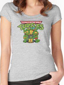 Teenage Mutant Ninja Turtles Women's Fitted Scoop T-Shirt