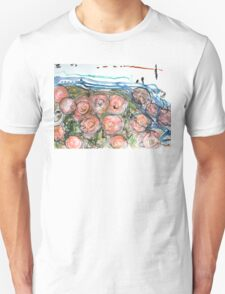 Watered Roses Unisex T-Shirt
