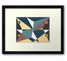 Peck the Mirror Framed Print