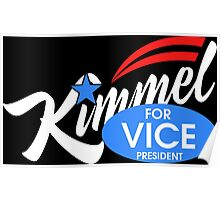 kimmel for vice president Poster