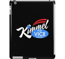 kimmel for vice president iPad Case/Skin