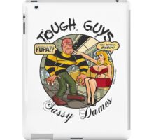 Tough Guys & Sassy Dames: Dynamo Joe & Fupa Von Moyst iPad Case/Skin