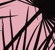 Palms on Blush Background Sticker