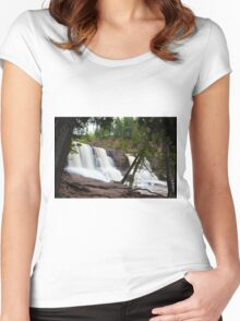 Gooseberry Falls Women's Fitted Scoop T-Shirt