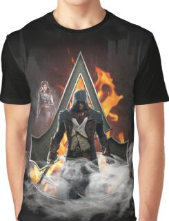 Assassin's Creed Unity art Graphic T-Shirt