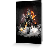 Assassin's Creed Unity art Greeting Card