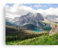 Grinnell Lake Canvas Print