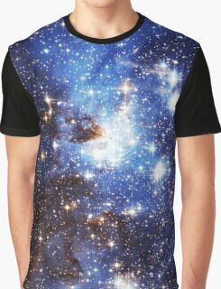 Blue Galaxy 3.0 Graphic T-Shirt