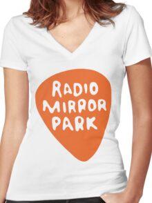 Radio Mirror Park (Gta radio) Women's Fitted V-Neck T-Shirt