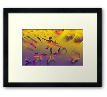 What A Feeling-  Art + 23 Products Design  Framed Print